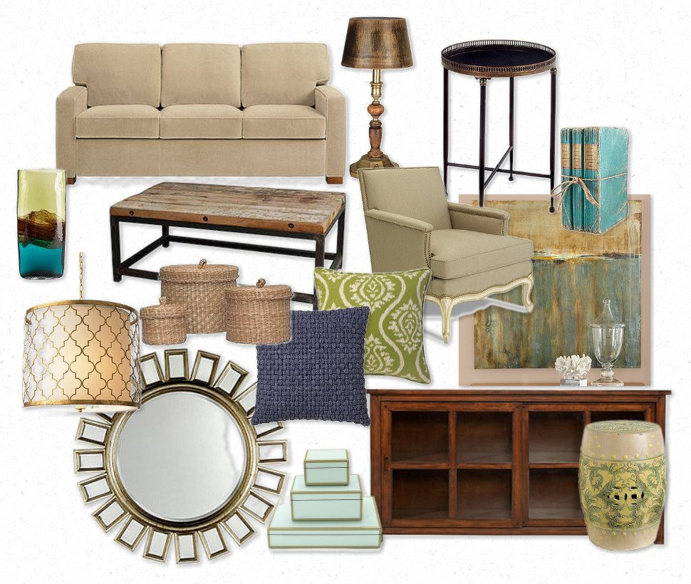 E-Design-by-ConfettiStyle-Interiors Shelly Dozier-Mckee, Belle of Southern Interiors