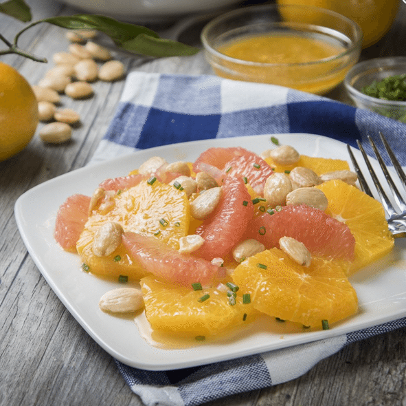 Savory-Citrus-Salad New Year's Healthy Eating with the Southern Foodie in Mind
