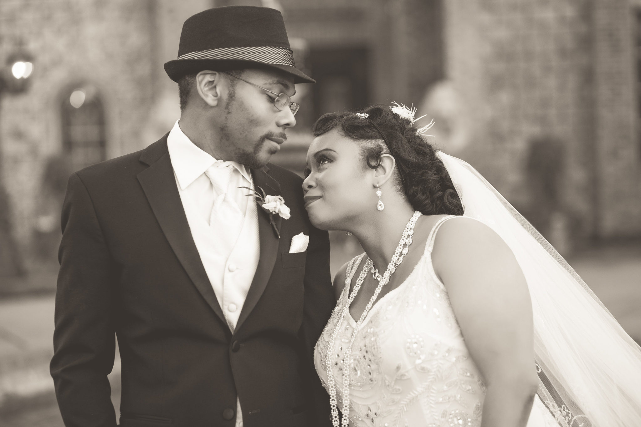 Tishre And Jahmaals 1920s Art Deco Themed Wedding Black Southern