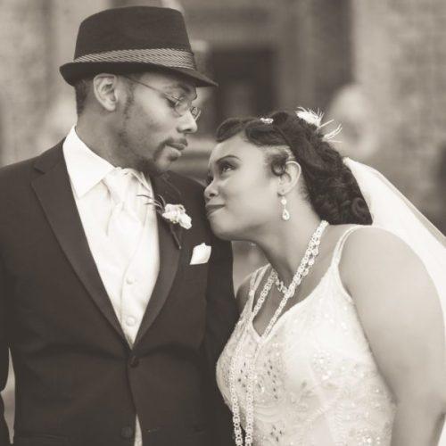 Tishre and Jahmaal's 1920's Art Deco themed Wedding 38
