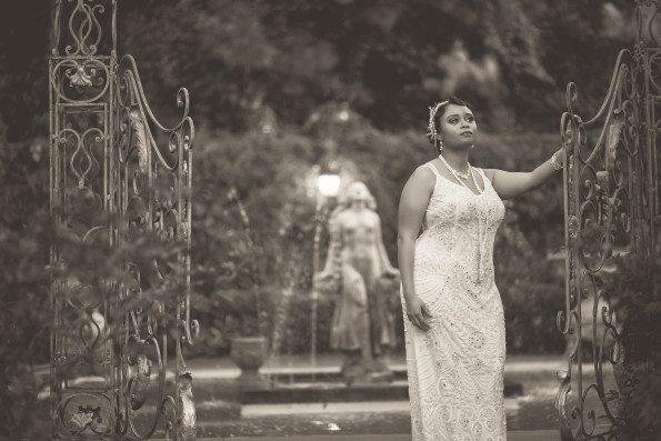Tish-Jahmaal-934-Edit-595x397 Tishre and Jahmaal's 1920's Art Deco themed Wedding