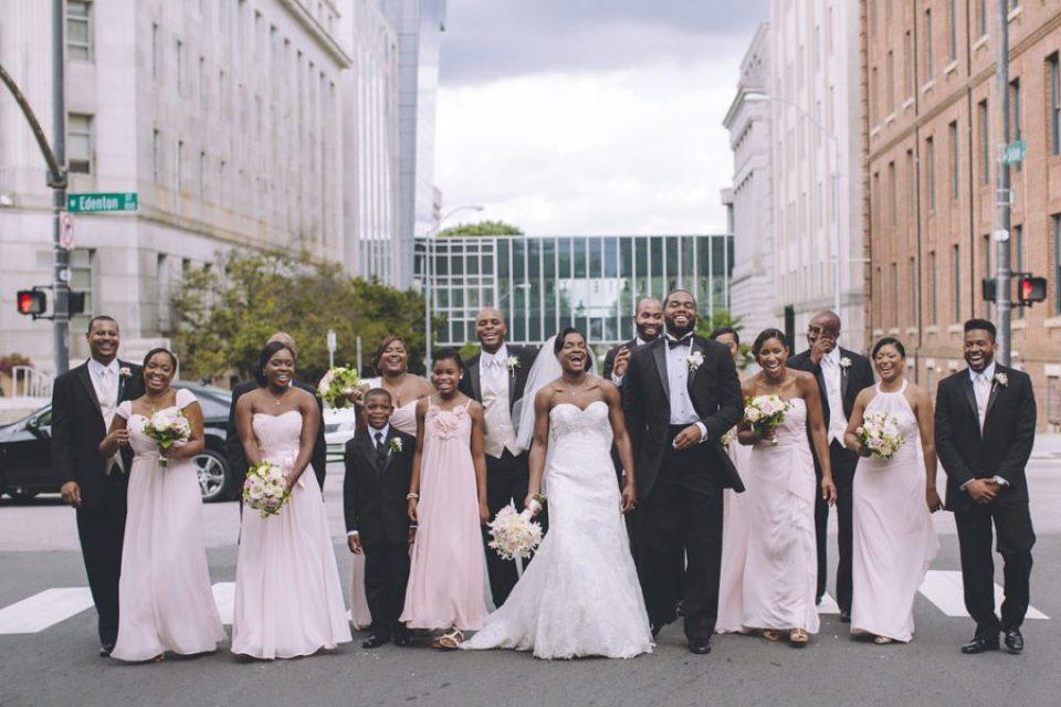 pittman-bridalparty-114-960x640 Traditional Southern Wedding Charm in North Carolina