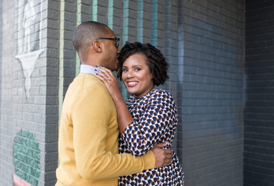 McAllister-and-Cornell-161-960x652 Downtown Raleigh Engagement Session with Vintage Style
