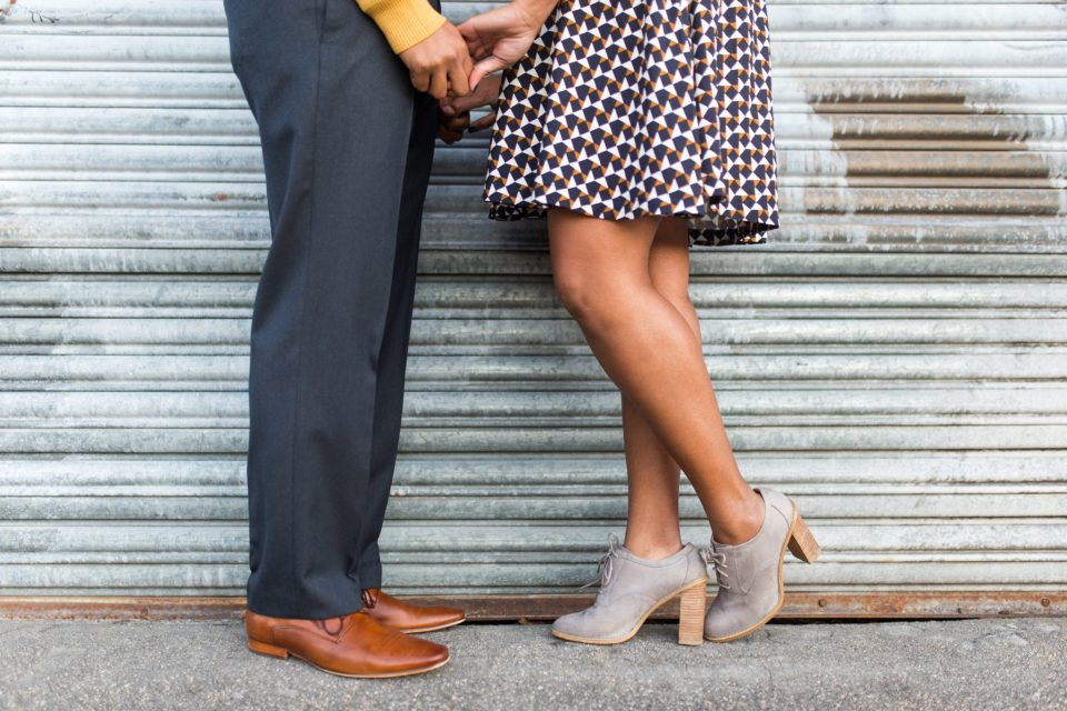 McAllister-and-Cornell-184-960x640 Downtown Raleigh Engagement Session with Vintage Style