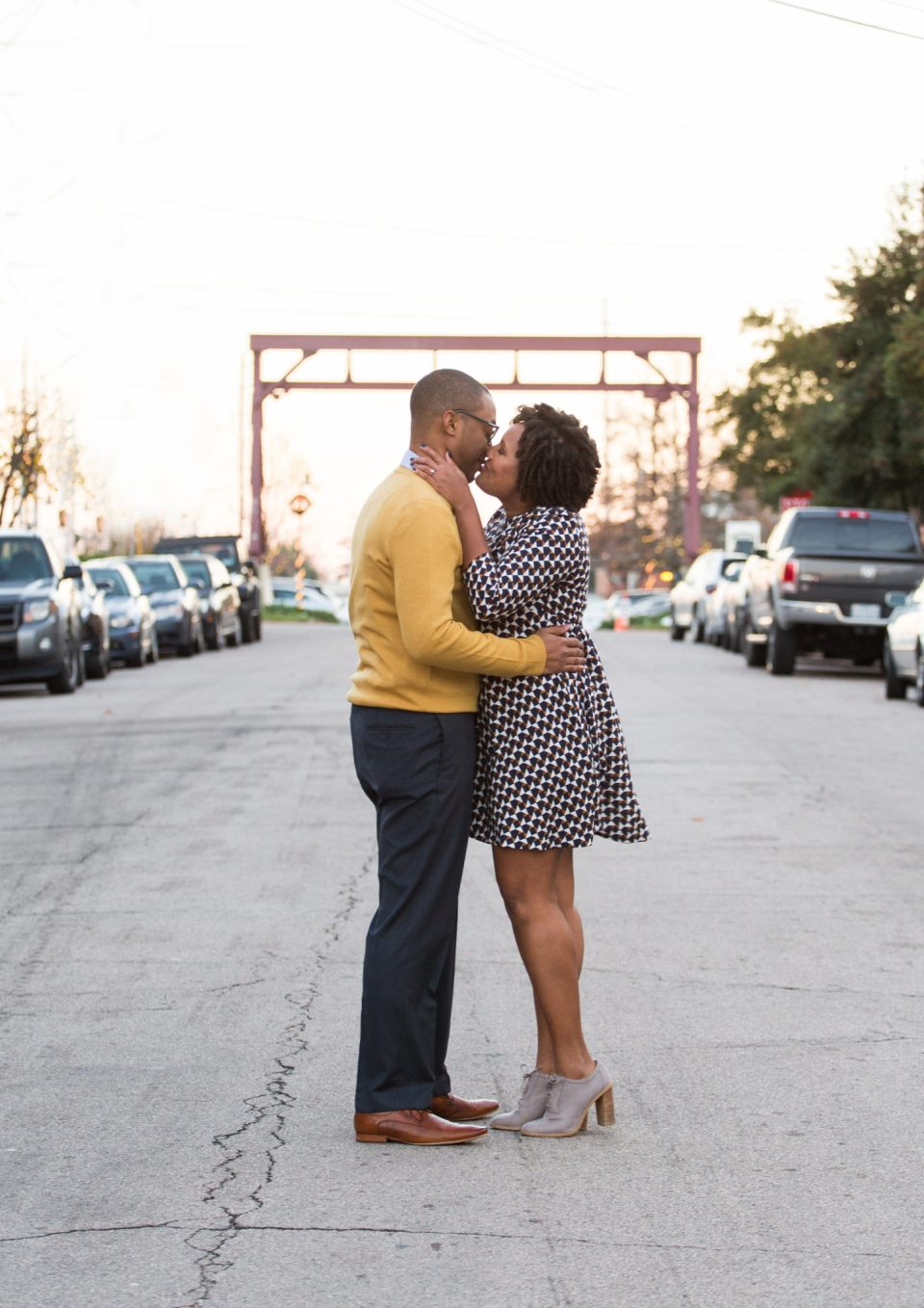 McAllister-and-Cornell-199-960x1358 Downtown Raleigh Engagement Session with Vintage Style