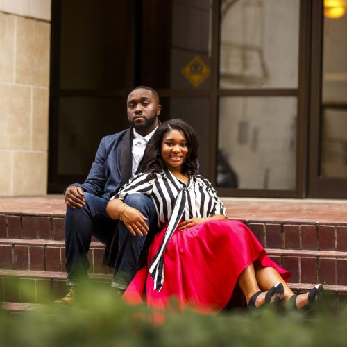 Chic Jacksonville Couple's Engagement Shoot 13