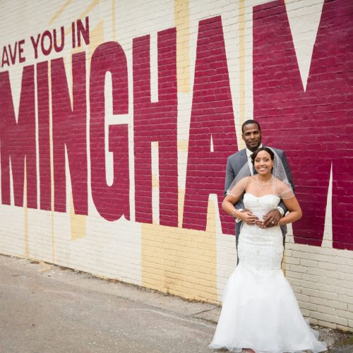 Southern Couple Ties the Knot in Birmingham 12