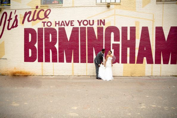 shawntia-jason-mcneil-photography-with-tk-wedding-9625-595x397 Southern Couple Ties the Knot in Birmingham