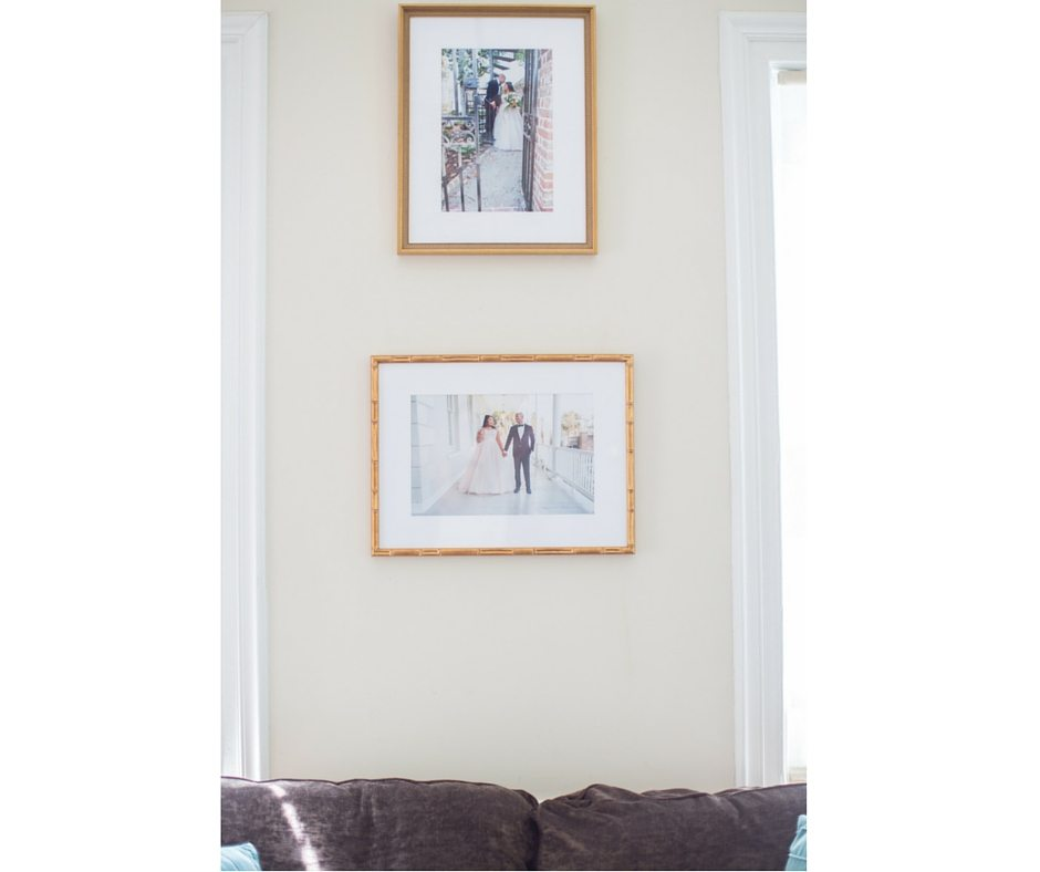 4 Gallery Wall Advice for a True Black Southern Belle Bride