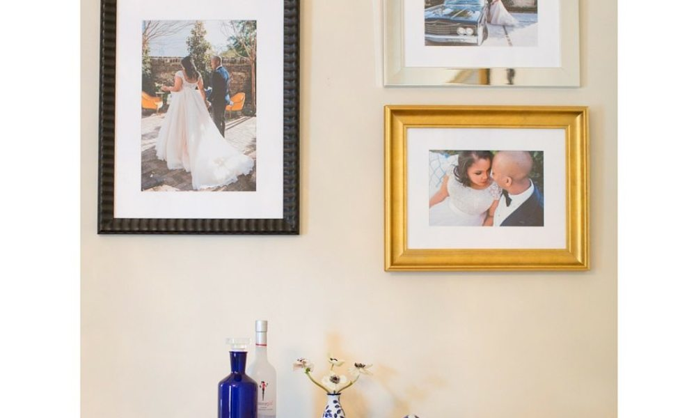 Gallery Wall Advice for a True Black Southern Belle Bride 15