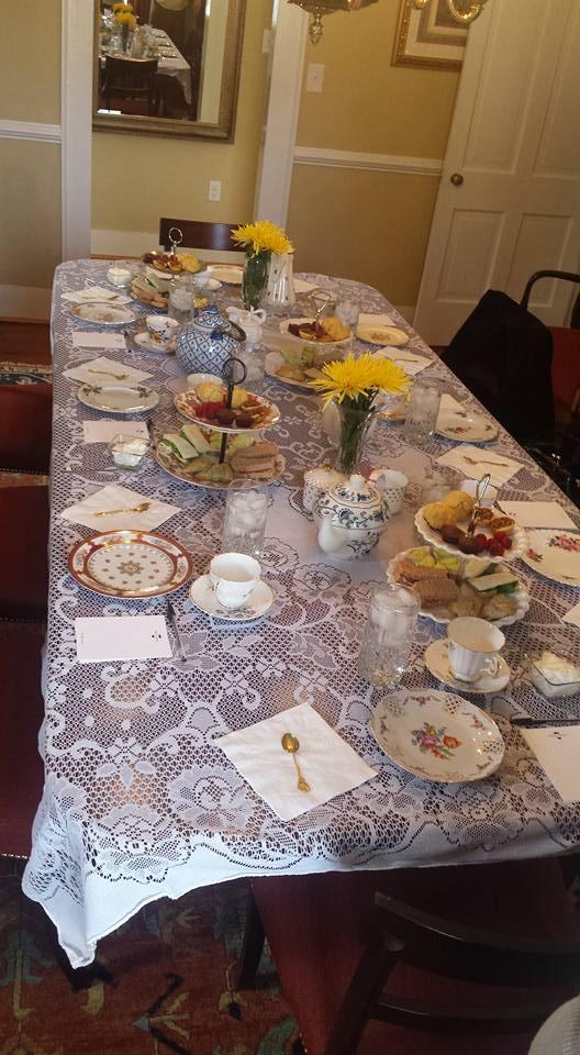 Moss Side Manor Dining Room