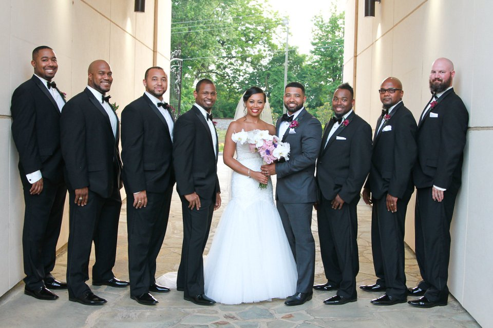 604-960x640 Southern Inspired, Greensboro, NC Wedding