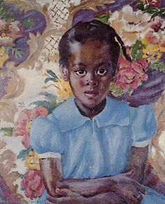 Laura-Wheeler-Waring-Little-Brown-Girl 10 Pieces of Art a Black Southern Belle Should Have in her Home