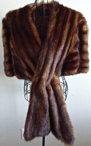 bsb12 5 Ways to Wear a Mink Stole - Fall Fashion Staple