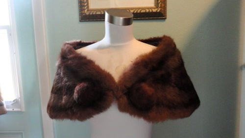 bsb13 5 Ways to Wear a Mink Stole - Fall Fashion Staple