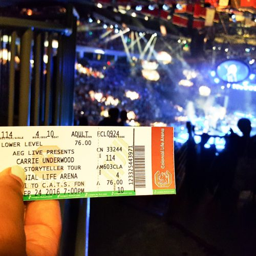 3 Things We Loved About the Carrie Underwood Concert Powered by #AmexAccess 1