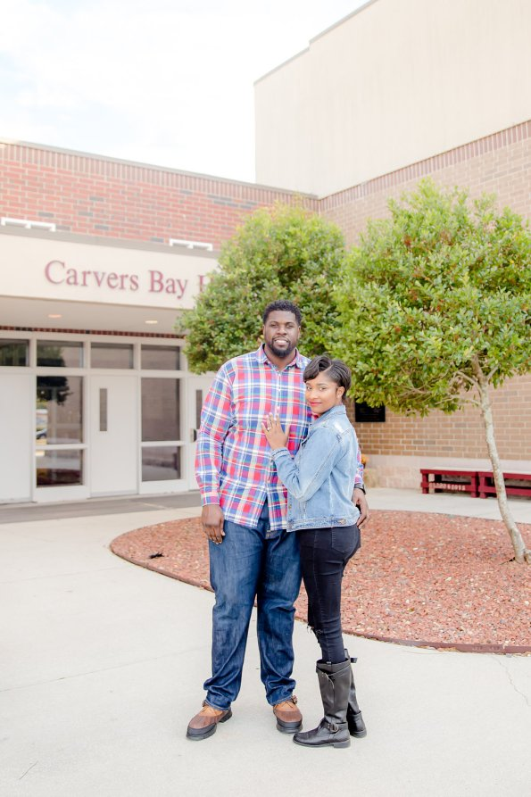 TaylorKwame-28-595x893 Georgetown, SC Engagement Session