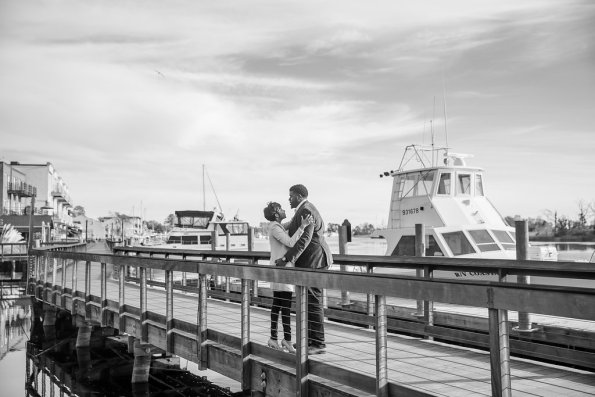 TaylorKwame-45-595x397 Georgetown, SC Engagement Session