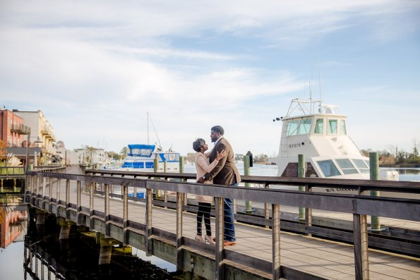 TaylorKwame-46-595x397 Georgetown, SC Engagement Session