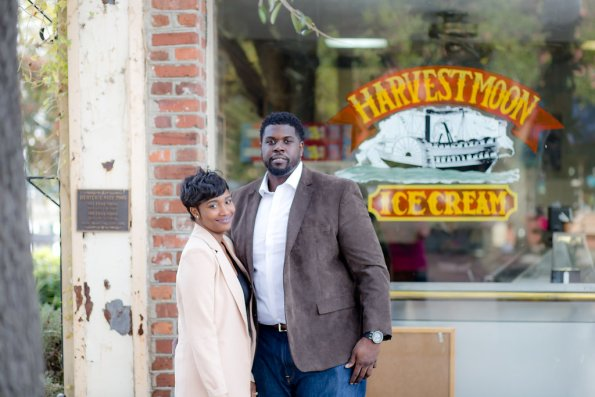 TaylorKwame-58-595x397 Georgetown, SC Engagement Session