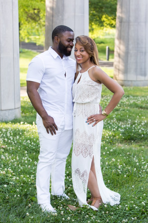 Amber-and-Adrian-Engagement-0004-595x893 Fisk University Love Engagement Session