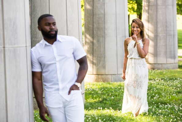 Amber-and-Adrian-Engagement-0009-595x397 Fisk University Love Engagement Session