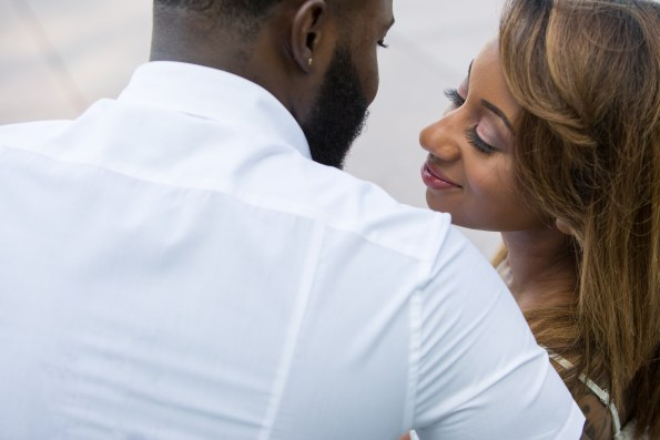Amber-and-Adrian-Engagement-0013-595x397 Fisk University Love Engagement Session