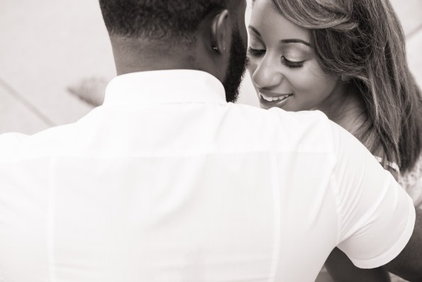 Amber-and-Adrian-Engagement-0015-595x397 Fisk University Love Engagement Session
