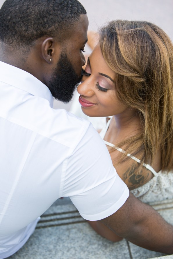 Amber-and-Adrian-Engagement-0016-595x893 Fisk University Love Engagement Session