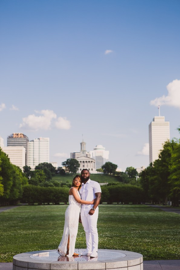Amber-and-Adrian-Engagement-0022-595x893 Fisk University Love Engagement Session