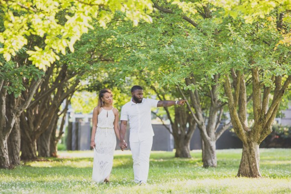 Amber-and-Adrian-Engagement-0029-595x397 Fisk University Love Engagement Session