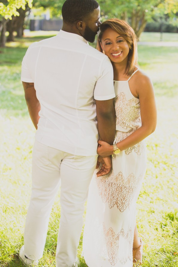 Amber-and-Adrian-Engagement-0036-595x893 Fisk University Love Engagement Session