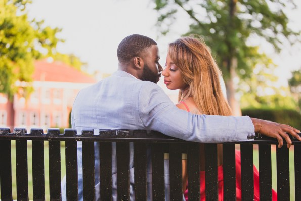 Amber-and-Adrian-Engagement-0052-595x397 Fisk University Love Engagement Session