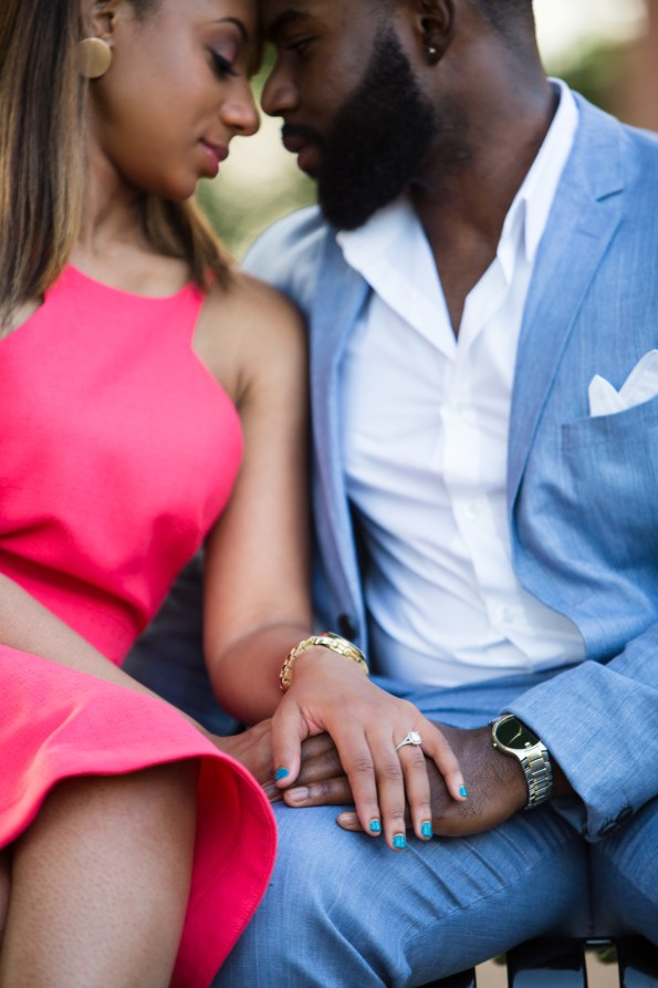 Amber-and-Adrian-Engagement-0062-595x893 Fisk University Love Engagement Session