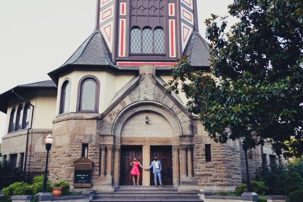 Amber-and-Adrian-Engagement-0066-595x397 Fisk University Love Engagement Session