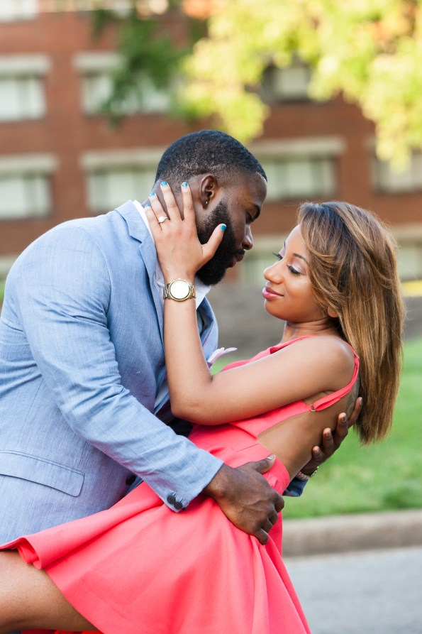 Amber-and-Adrian-Engagement-0087-595x893 Fisk University Love Engagement Session