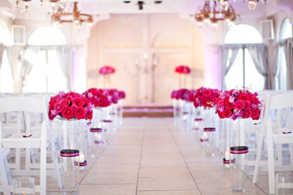 39VillaAntoniaWeddingBrittanyandKeithbyIvyWeddings-595x397 Romantic Texas Villa Nuptials