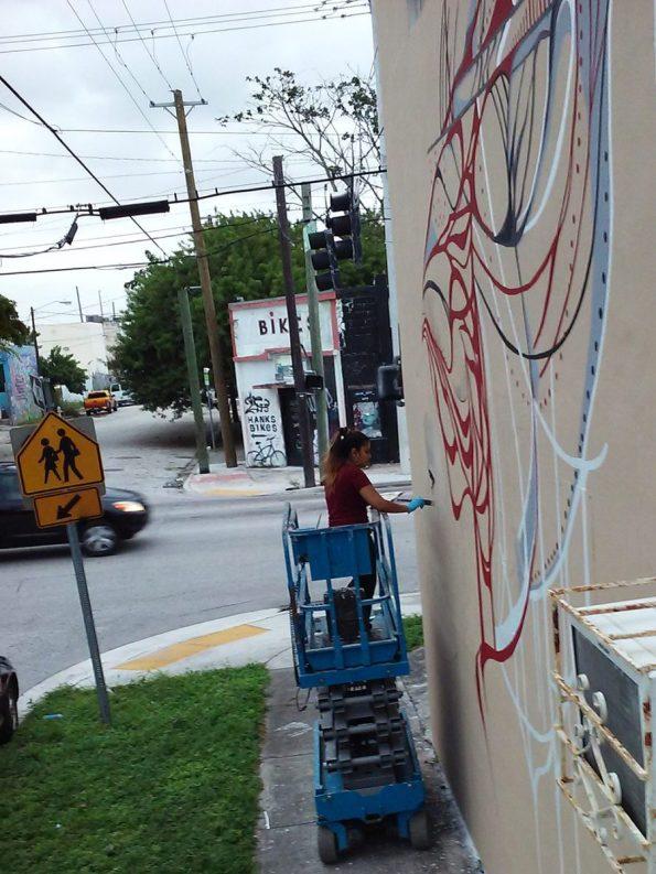 Ivette-Public-Art-Wynwood-Mural-595x793 Art Inspiration from Florida Belle Ivette Cabrera