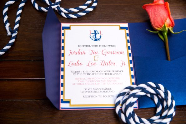 JordanLes_BlissWedding_248-595x397 10 Types of Stationery for A Black Southern Belle Bride and Groom