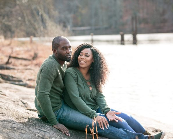 KD173904-595x476 Atlanta, GA Outdoor Engagement Shoot