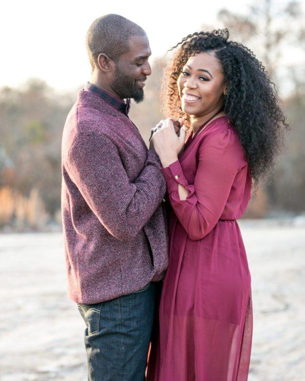 KD174093-595x744 Atlanta, GA Outdoor Engagement Shoot