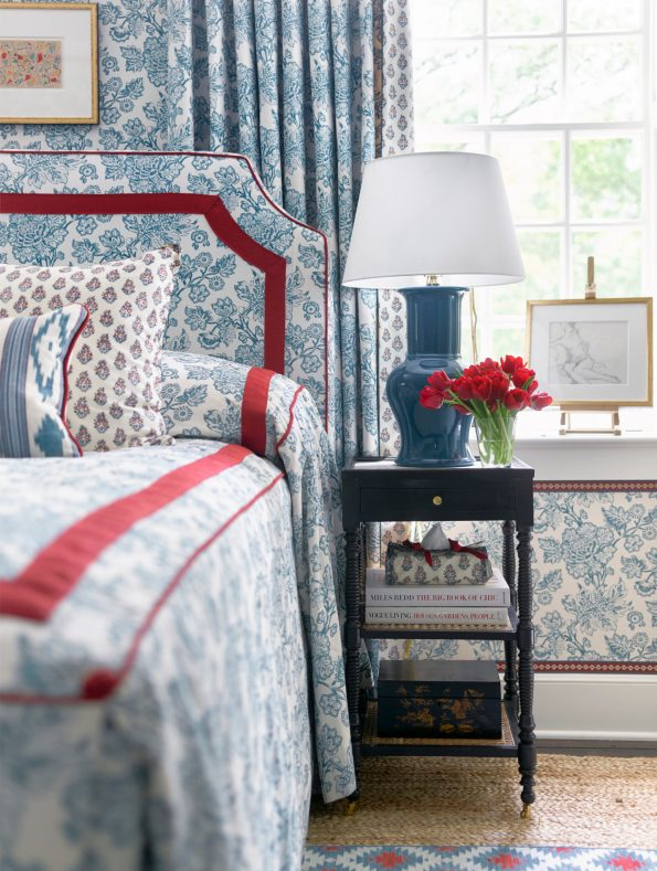 Bedroom3_SarahBartholomew-595x789 10 Southern Decor Favorites from the Southeastern Designer Showhouse