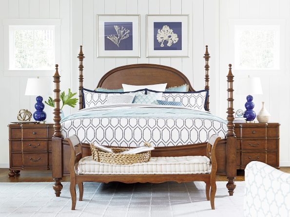 Image-4-595x446 5 Tips for Classic Southern Bedroom Style from LuxeDecor