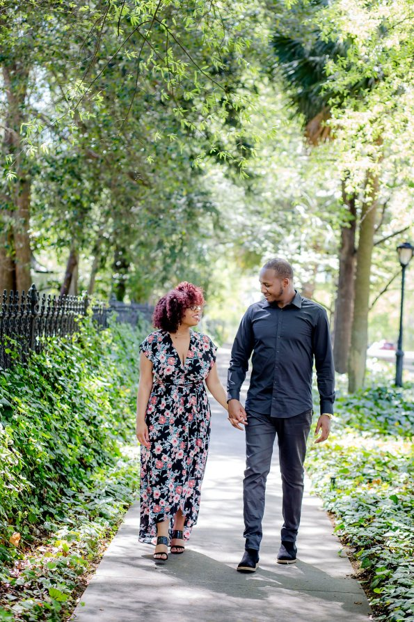 JoabCrystal-Engaged-17-595x893 Hometown Columbia, SC Engagement Session