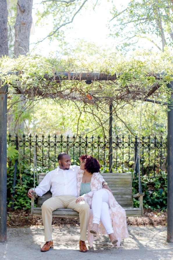 JoabCrystal-Engaged-19-595x893 Hometown Columbia, SC Engagement Session