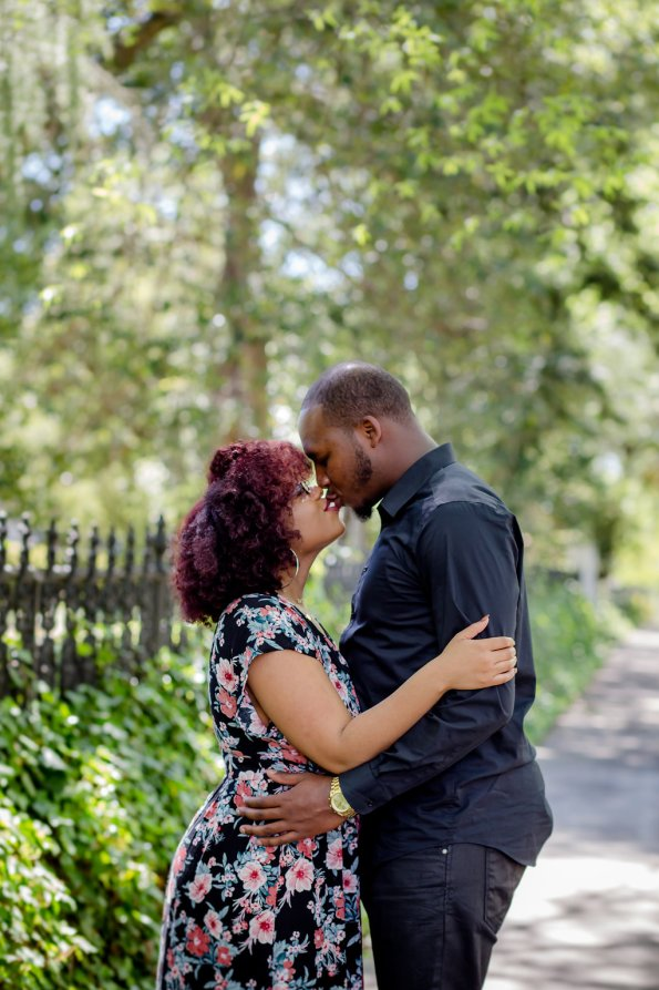 JoabCrystal-Engaged-4-595x893 Hometown Columbia, SC Engagement Session