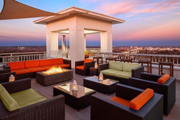 Partridge-Inn-Rooftop-595x397 Black Southern Belle Travel: Augusta, GA
