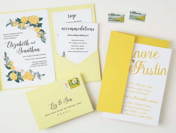 basic_invite_4-595x452 5 Tips for Choosing Your Wedding Stationery Powered by Basic Invite