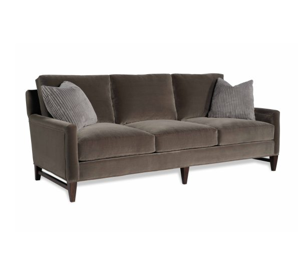 Canada-Sofa-595x513 Newlywed Neutral, Menswear Inspired Furniture from Taylor King