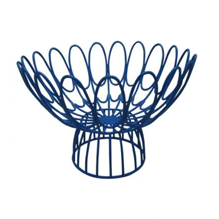 floral-wire-bowl-blue-445px-491px 10 Items for Your Tabletop from Steve McKenzie's